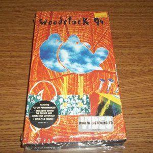 WOODSTOCK 1994 CONCERT VIDEO VHS